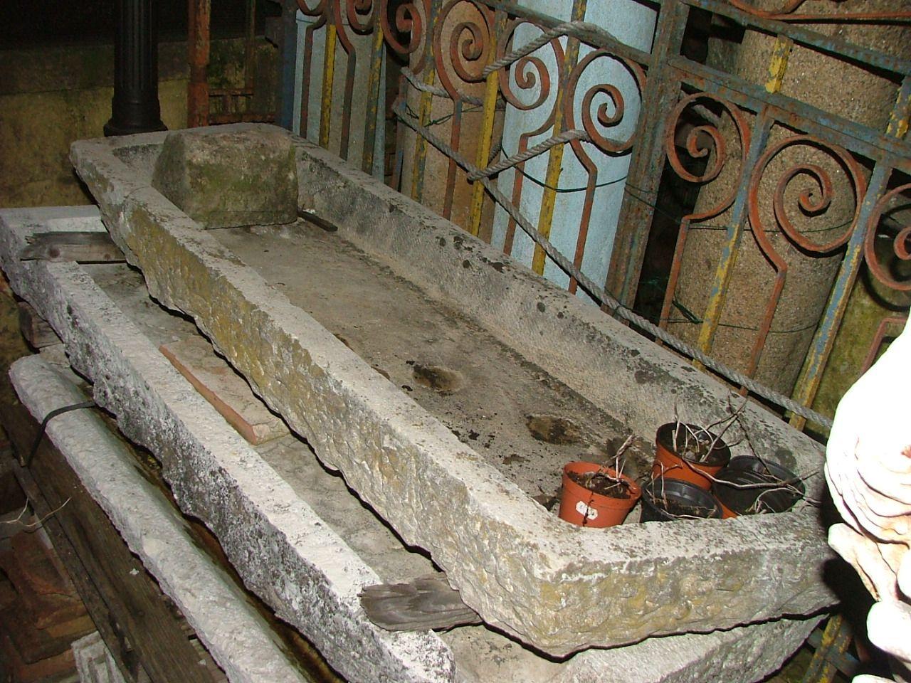 Lavabi Antichi In Pietra Pannelli Termoisolanti