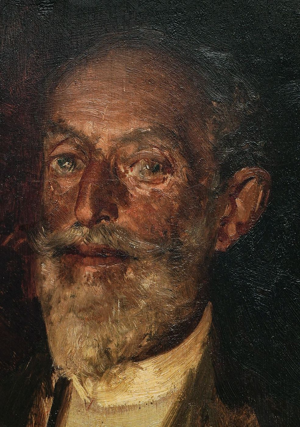 thumb2|Ritratto del pittore Nandor Thuroczy - Gaetano Esposito
