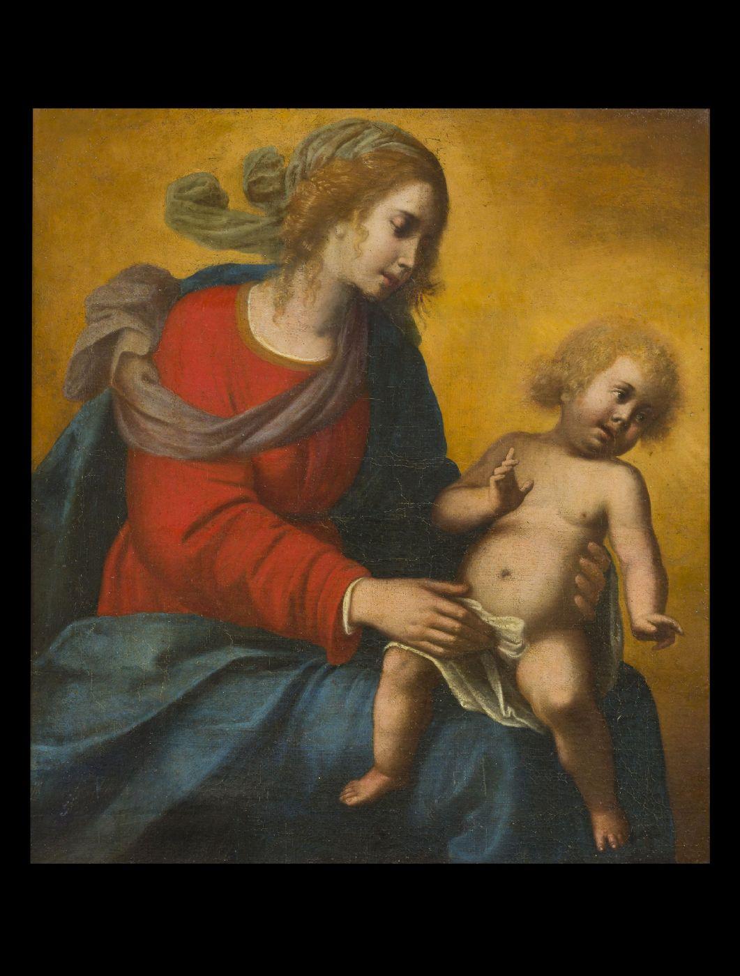 thumb2|Mario Balassi (Firenze 1604 -1667) - Madonna con Bambino