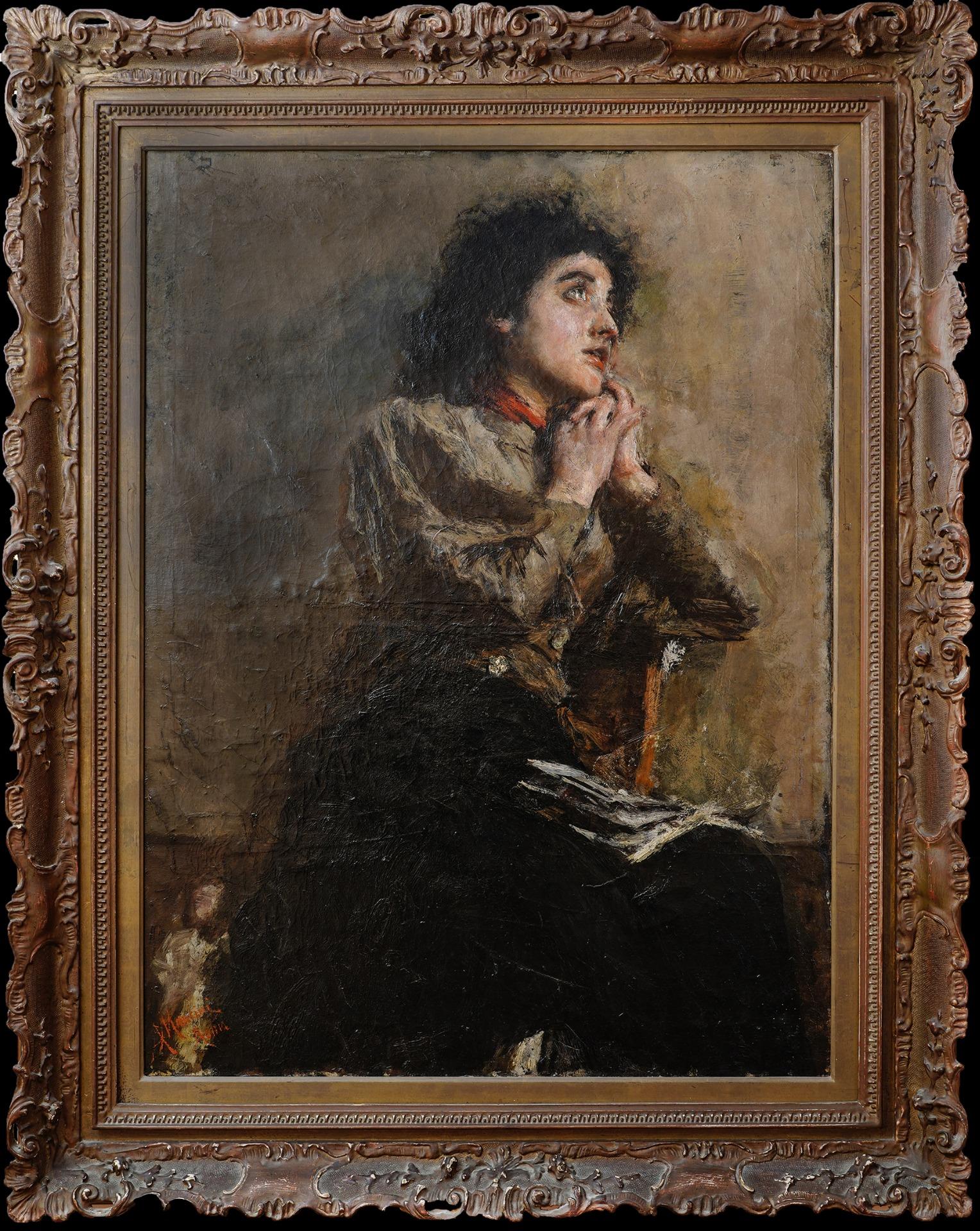 thumb2|O modelo (Desejo) - Antonio Mancini, 1852-1930