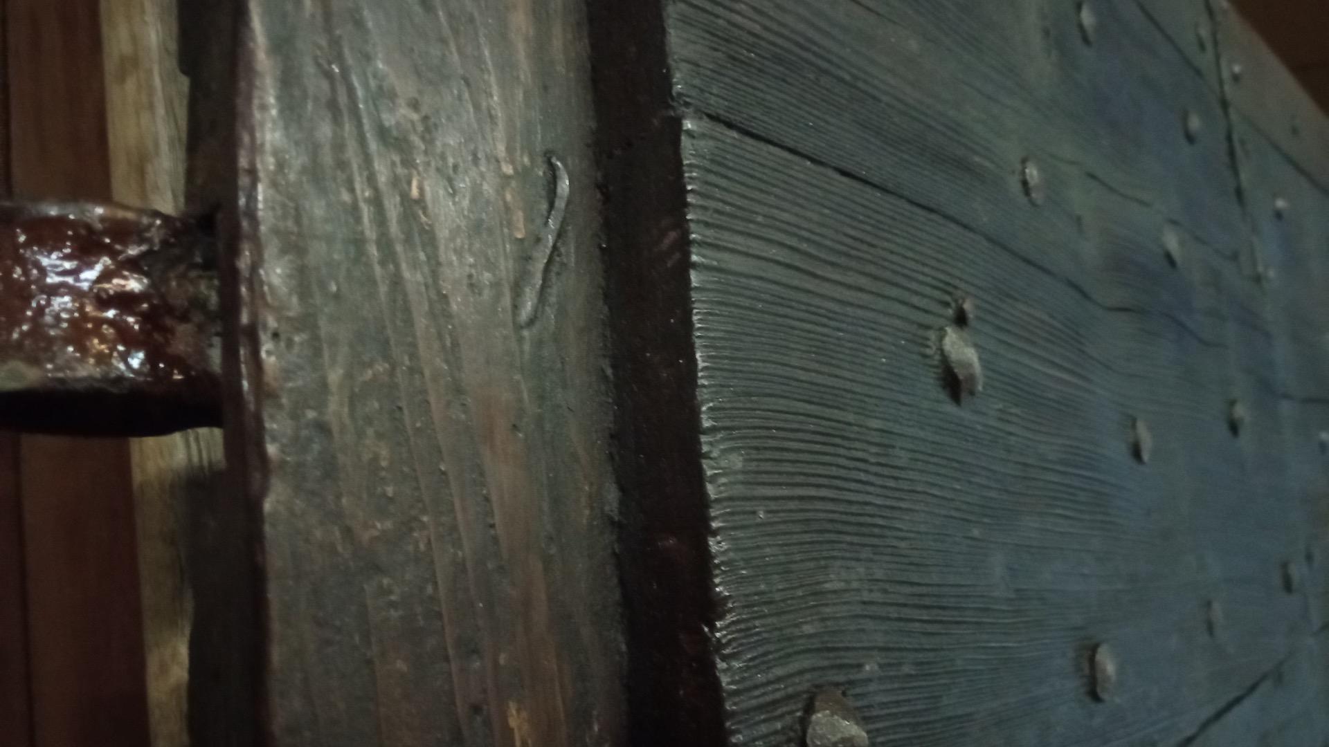 thumb2 Tür mit Lamellen