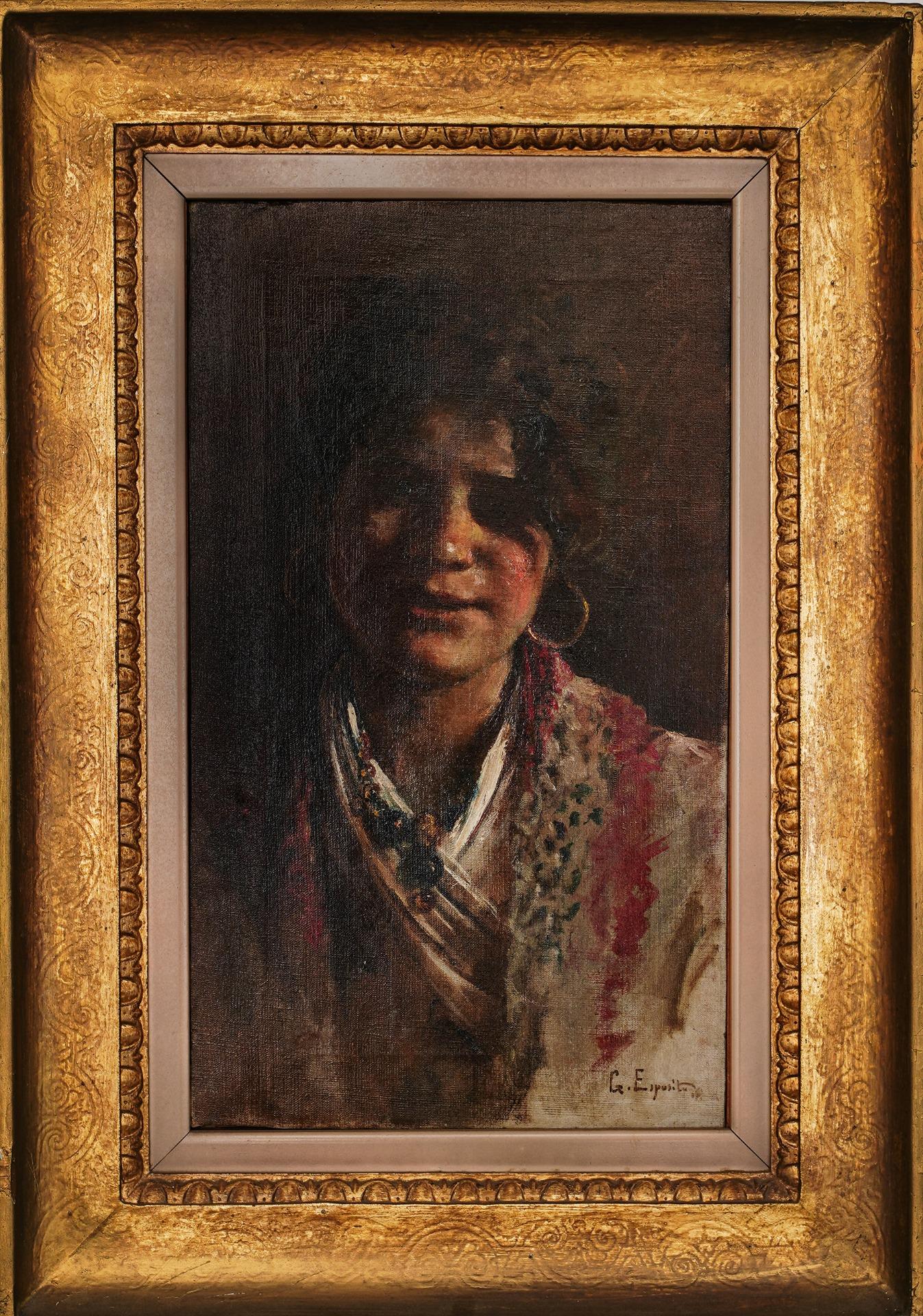 thumb2|Gaetano Esposito. Ciociara - aprox. 1870/80