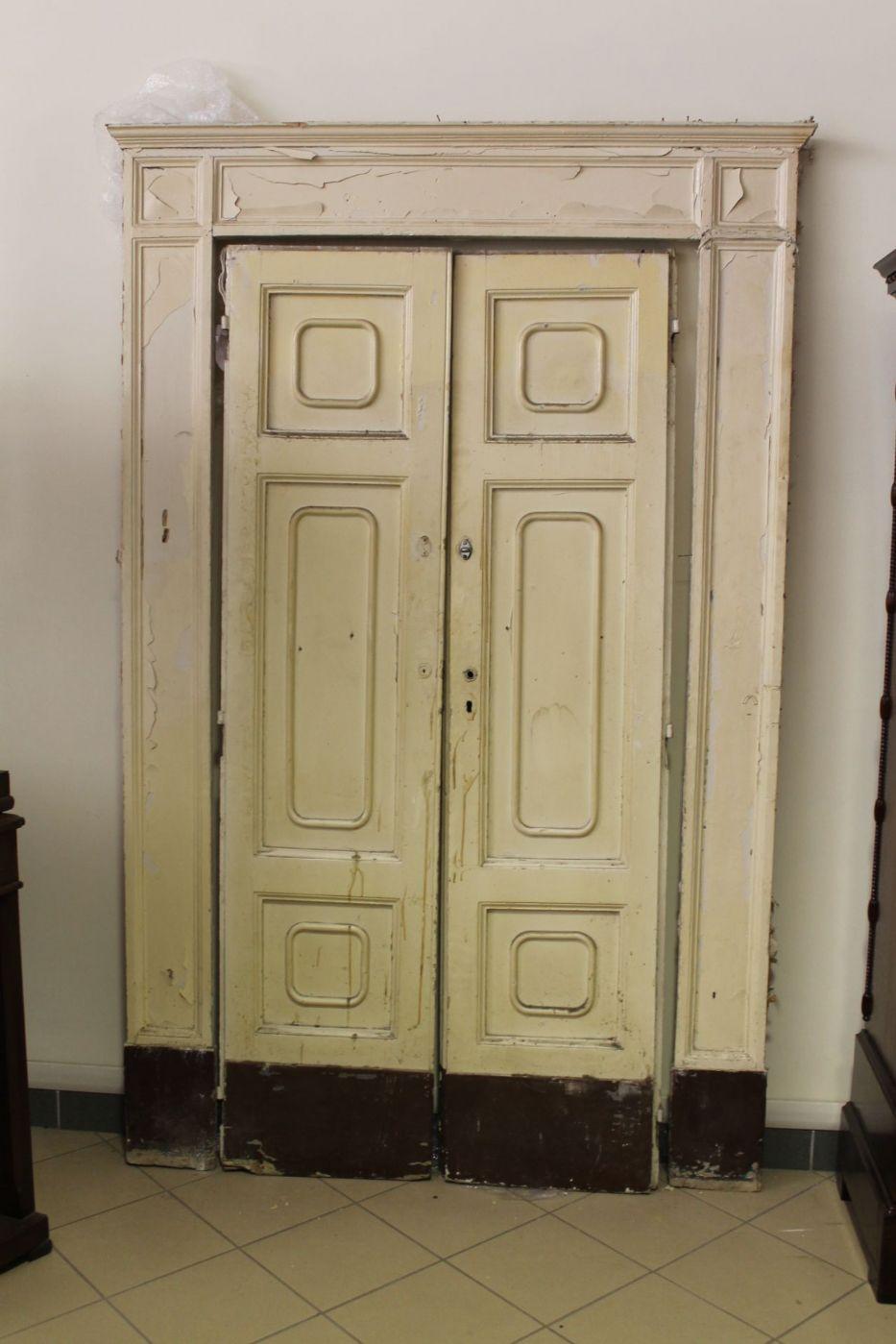 Porta antiche armadio a muro placard epoca 800 da - Porta a muro ...