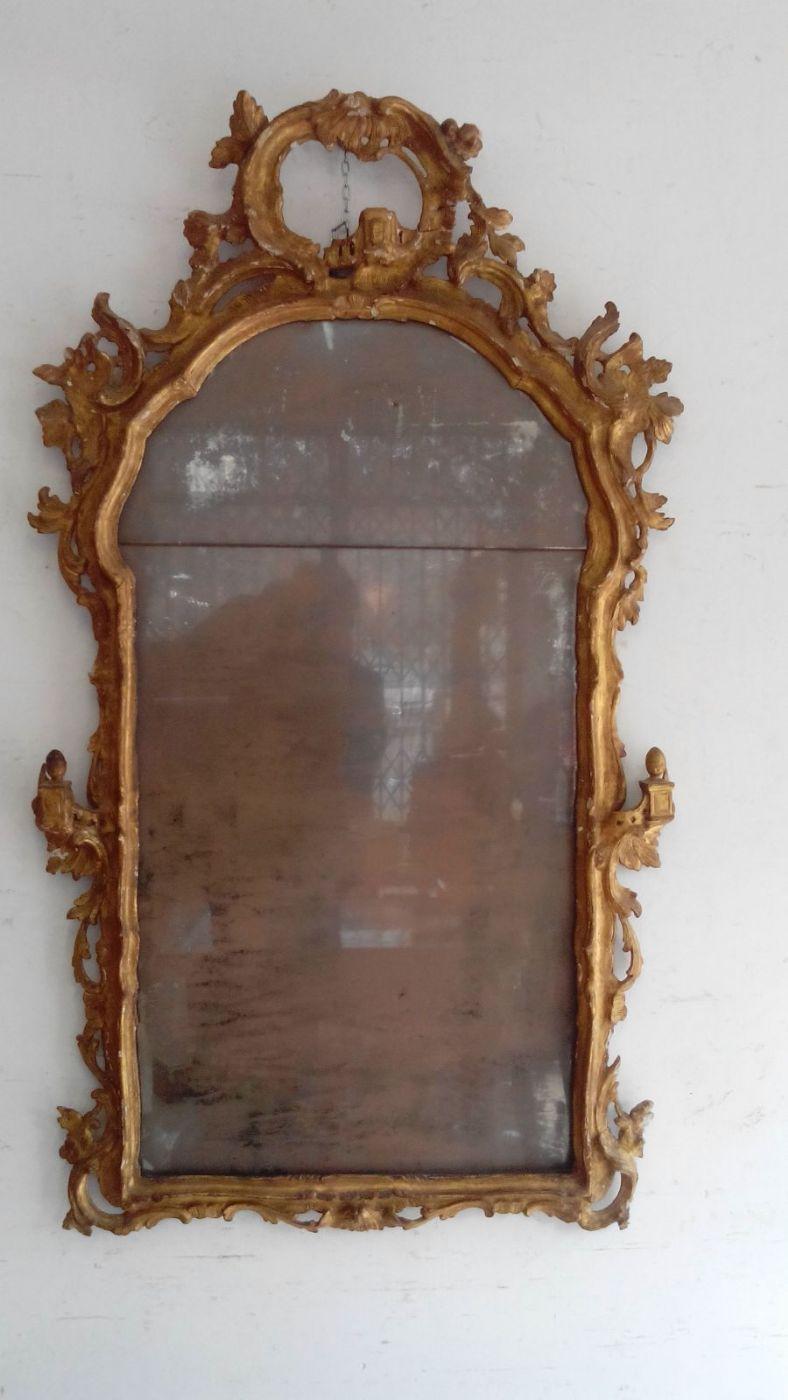 Specchiera veneziana epoca luigi xv 1700 antiquariato su for Mobili antichi 1700