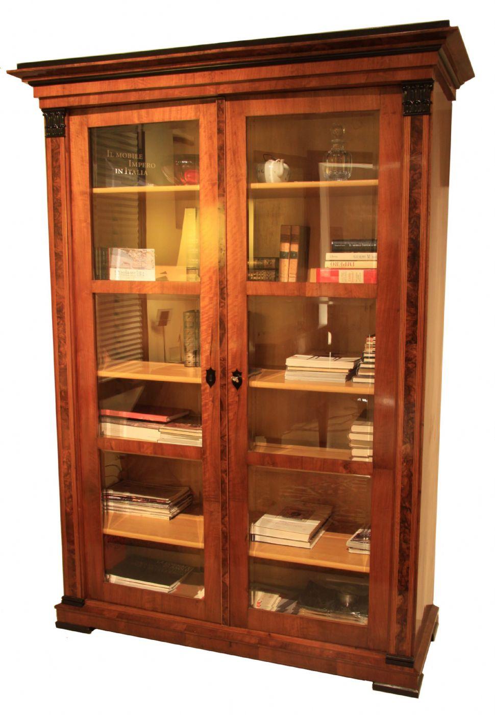 Libreria biedermeier a due ante austria 1820 circa antiquariato su anticoantico - Mobili biedermeier ...
