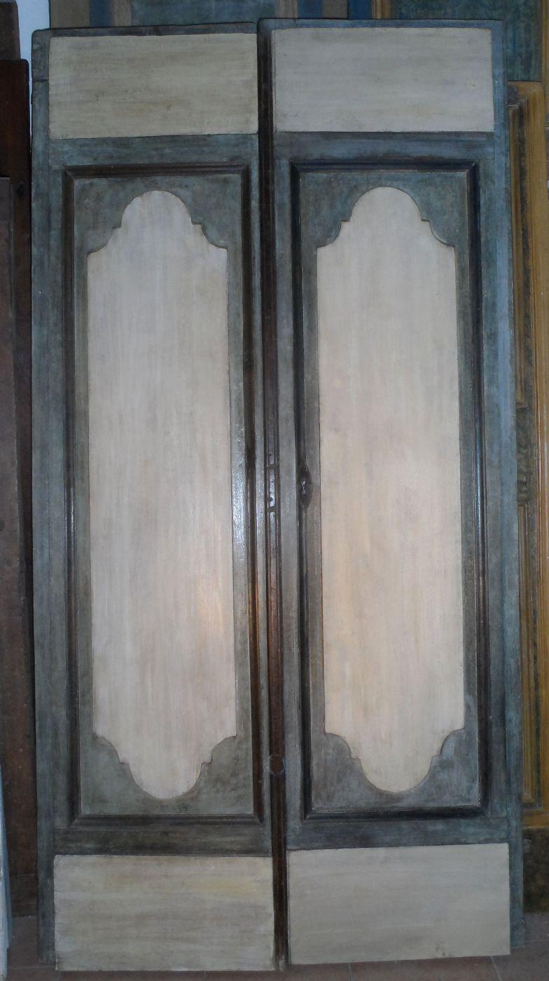 Porta Veneta A Due Ante Antiquariato Su Anticoantico