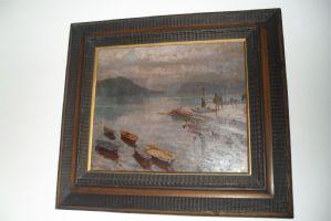"""озеро с лодками A.Lupo"""""""
