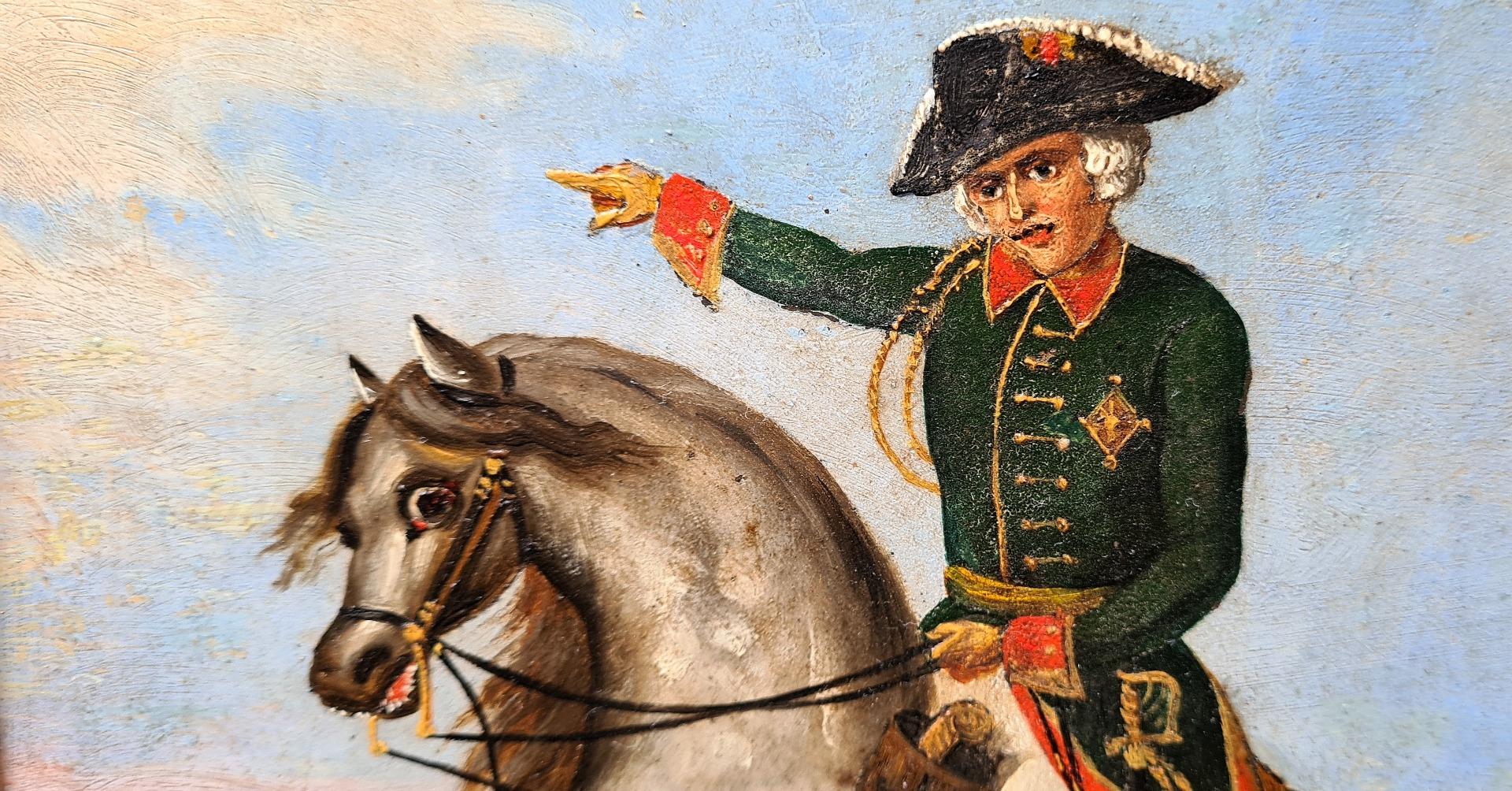 thumb2|Ritratto a cavallo di Federico Guglielmo III di Prussia