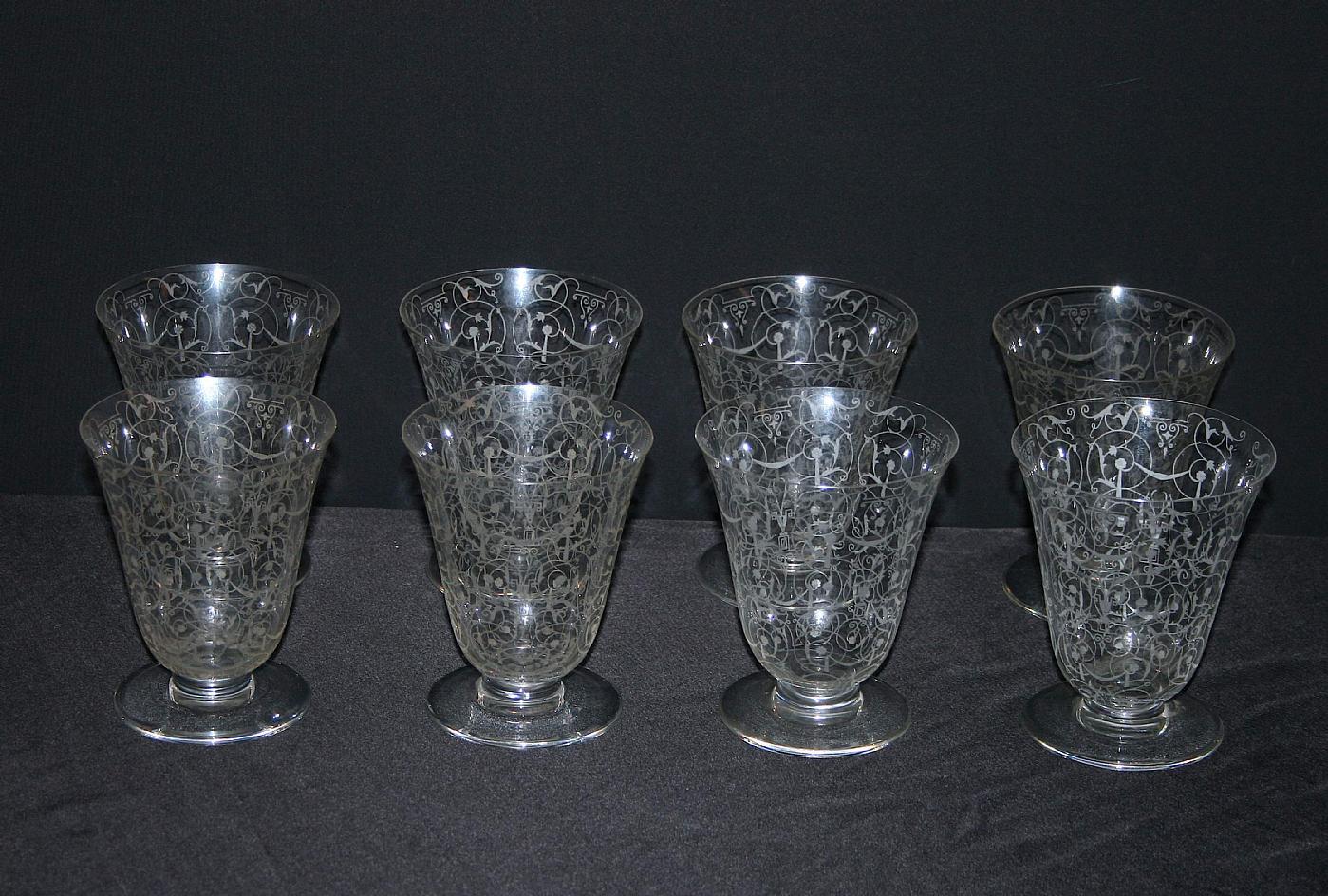 Bicchieri baccarat antichi colonna porta lavatrice for Bicchieri cristallo