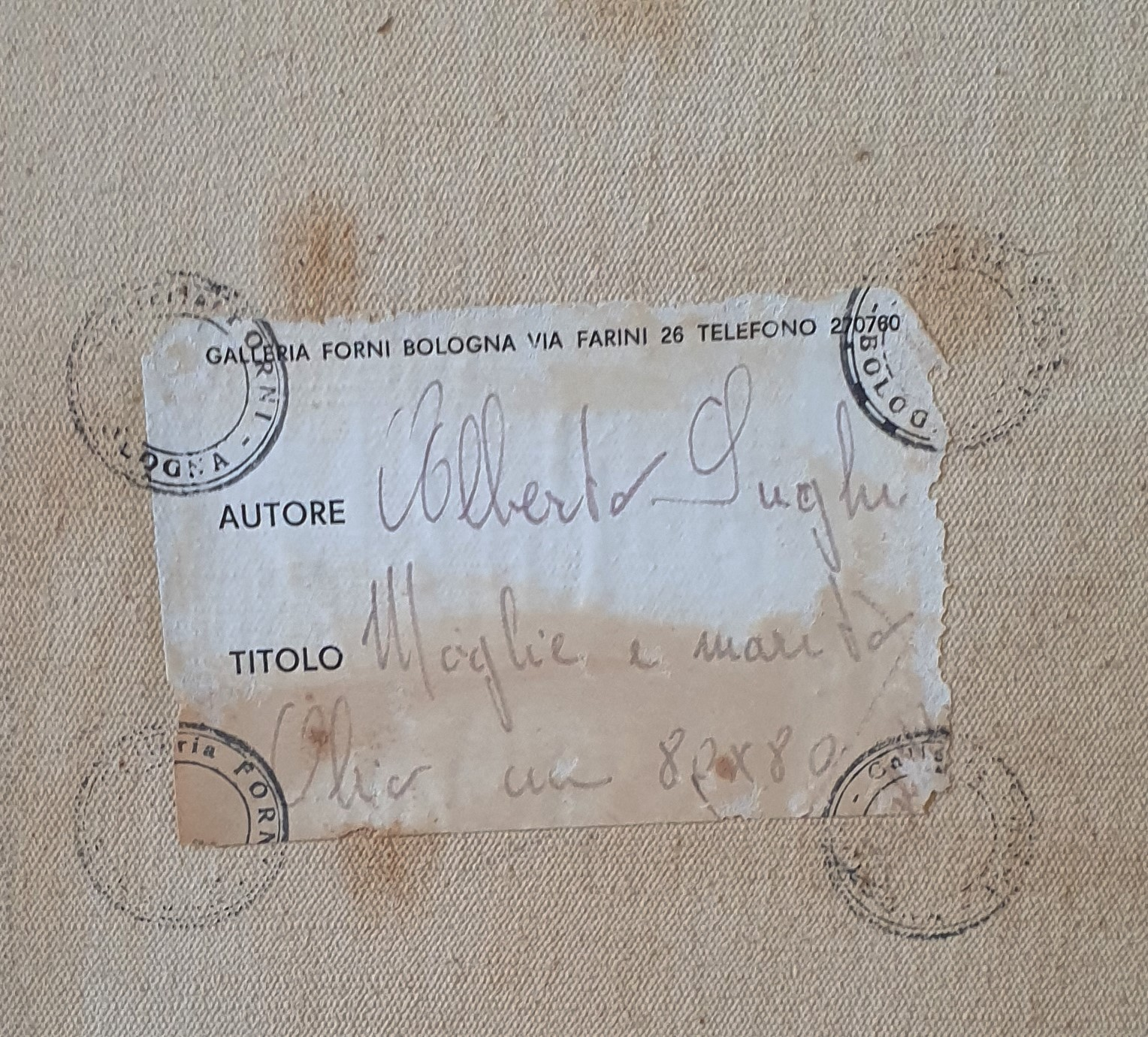 thumb2|阿尔贝托·苏吉(Alberto Sughi),《妻子与丈夫》,1967年。