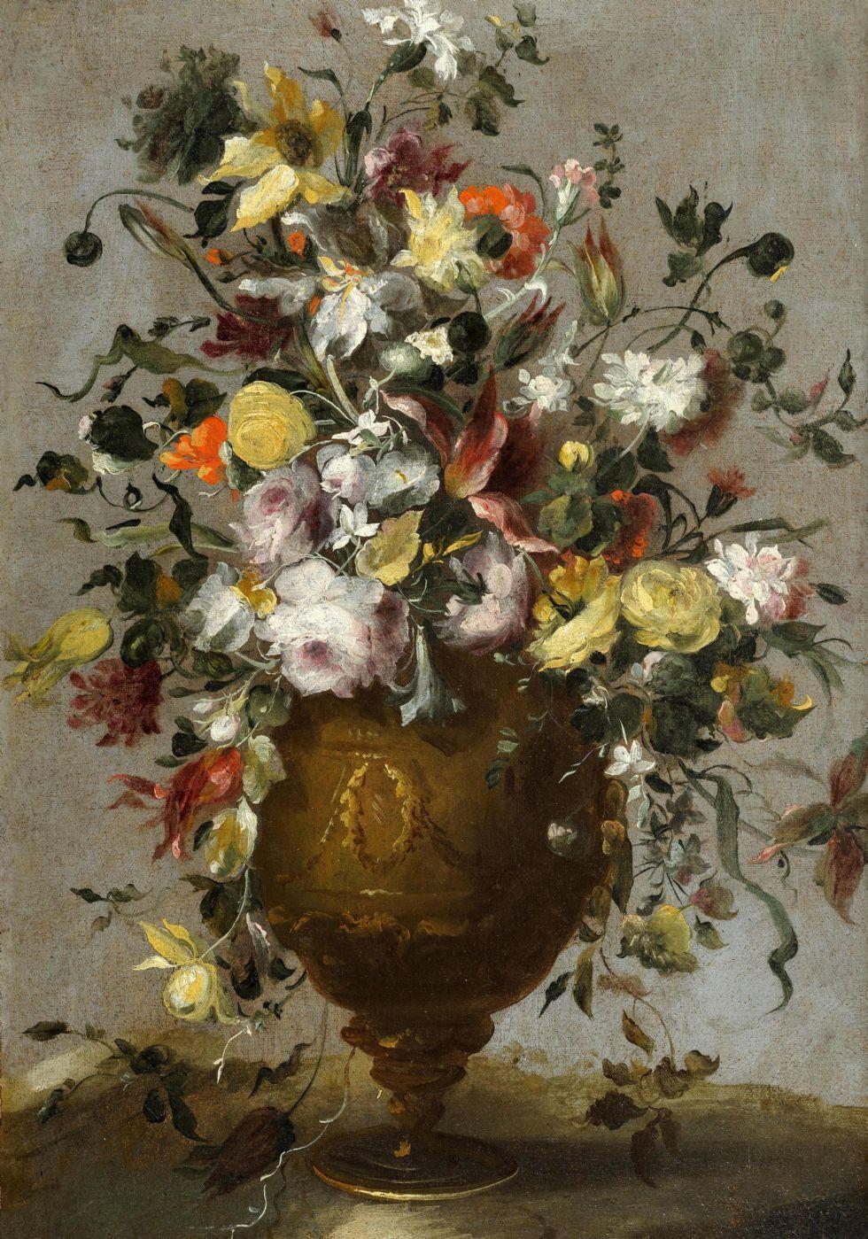 Galleria giamblanco antiquariato torino dipinti antichi for Fiori di ciliegio dipinti