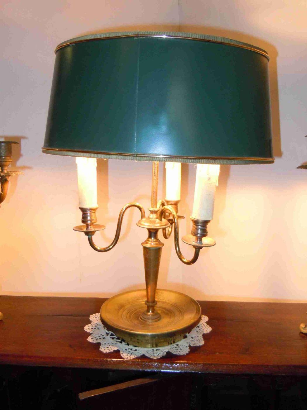 """Lampada da tavolo chiamato """"lampada borsa dell'acqua calda"""" periodo Direttorio Antiquariato su ..."""