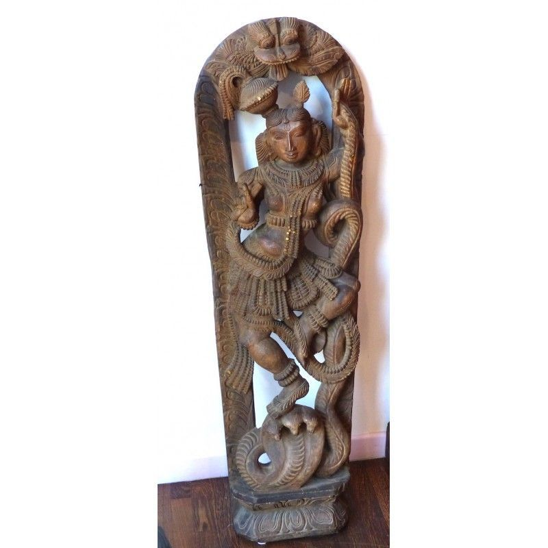 lampadari indiani : Scultura indiana Antiquariato su Anticoantico