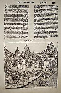 Bologna / Istanbul - H. Schedel 1493