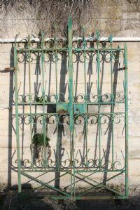 Cancello in ferro. Epoca 1800