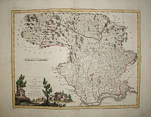 Friuli Venezia Giulia - A. Zatta 1783