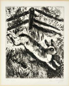 Marc Chagall - La lepre e la rana