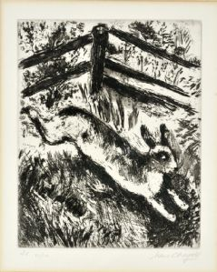 "Marc Chagall - La liebre y la rana"""