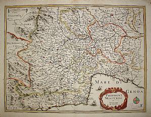 Monferrato Piemont Ligurien Savoy - Mariette 1650
