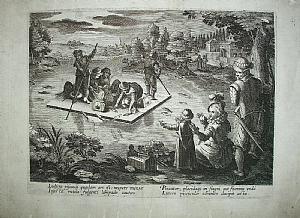 Night fishing - J. Stradanus 1578-96