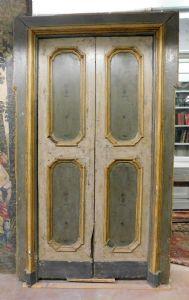 "ptl416 lacado porta, vintage '700, mis. com quadro h cm252 x 155 largura."""