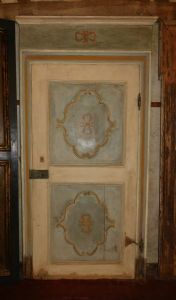 Ptl420 baroque door with frame, maximum size h cm 255 x 135 away. max""