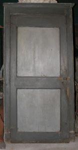 pts596 10 lackierte Türen mit Rahmen, mis. h 220 cm x Breite. 110 Türen zieht, mis. h 203 cm x 90