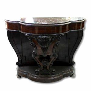 """Console Luigi Filippo Neapolitan in rosewood 19th century."""""""