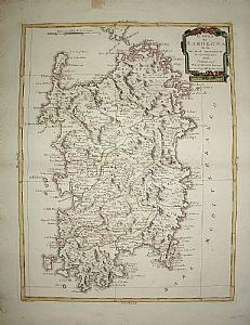 Sardinia - A. Zatta 1782