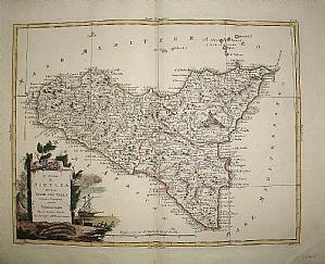 Sicily - A. Zatta 1782