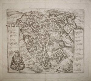 锡耶纳 -  M.梅里安1688