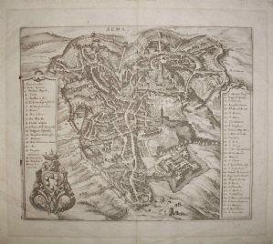 Siena - M. Merian 1688