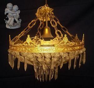 """LAMPE IN BRONZE GOLDEN"""""""