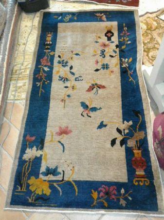 tappeto cinese art deco  cm 190 x 74