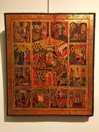 """Icona raffigurante """"Resurrezione di Cristo"""" - lotto 7"""