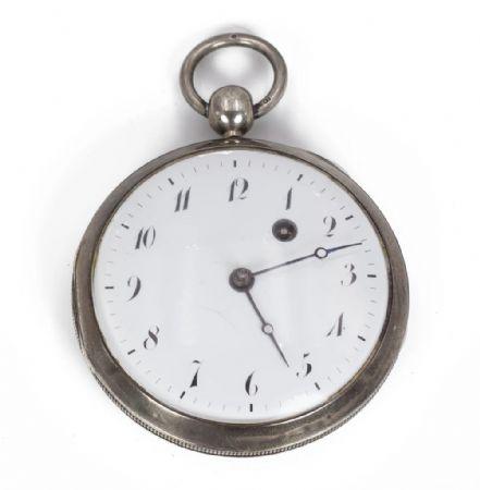Orologio da tasca in argento , 1831 Austria-Ungheria