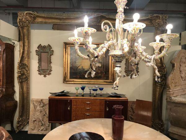 An Grande cornice dorata Luigi 14 Venezia 292x360