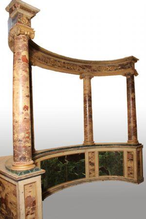 Tempio marmorizzato (epoca: Impero - Prima metà del XIX secolo)