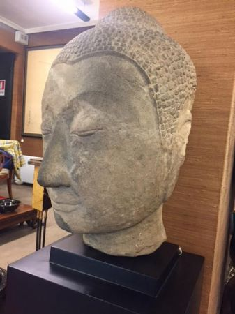 Testa nell'iconografia del buddha