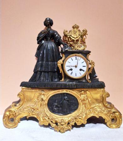 Orologio in bronzo epoca Napoleone III