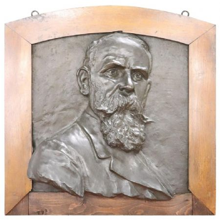 Scultura in bronzo ritratto di gentiluomo inizi Sec. XX PREZZO TRATTABILE