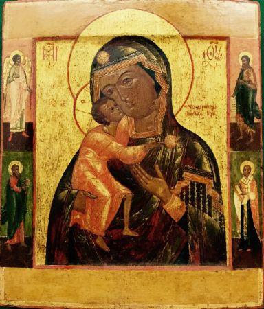 Madre di Dio Feodorovskaja - cod. A100