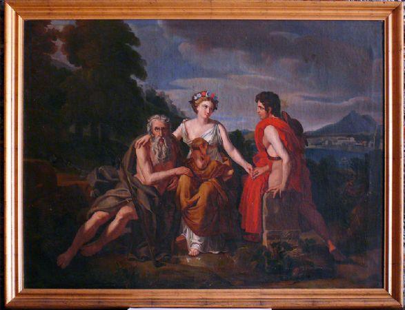 """Dipinto """"Le tre età"""" - CA/1143"""