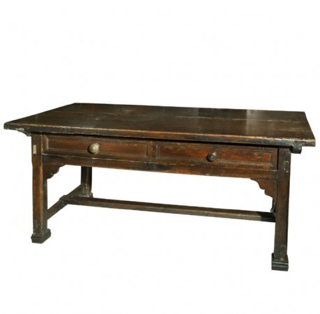 Tavolo in legno di noce modena sec xvi xvii antiquariato for Vendita mobili modena