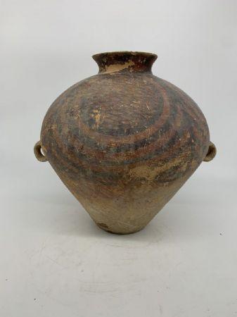 Majiayao Culture (2700 A. C) - Bellissima urna cineraria con decorazione Engobe