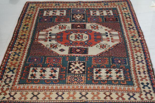 Kazakh Karachoph – 19th century – antique piece – approx. 211 x 137 cm