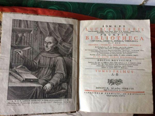 Lucii Ferraris, Prompta Bibliotheca