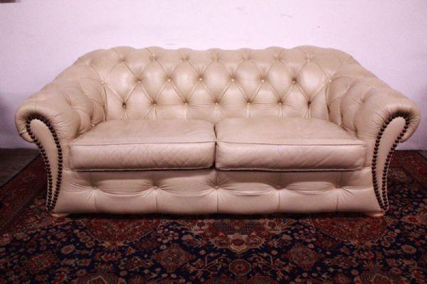 Bel Chesterfield Sofa Chester 3 Plätze Englisch Original