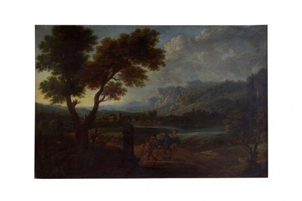 Jacob De Heusch ( Utrecht, 1657- Amsterdam,1701), attr.a