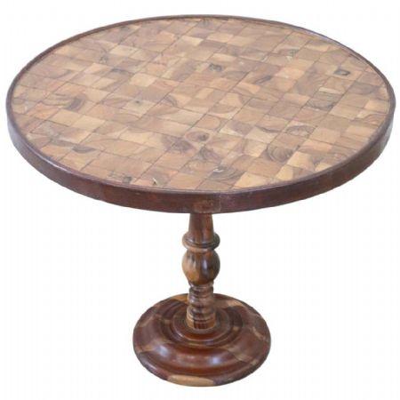 Tavolino da salotto rotondo stile antico intarsiato secolo XX PREZZO TRATTABILE